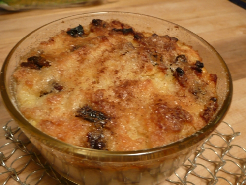 Second Life Bread Pudding and Fruit