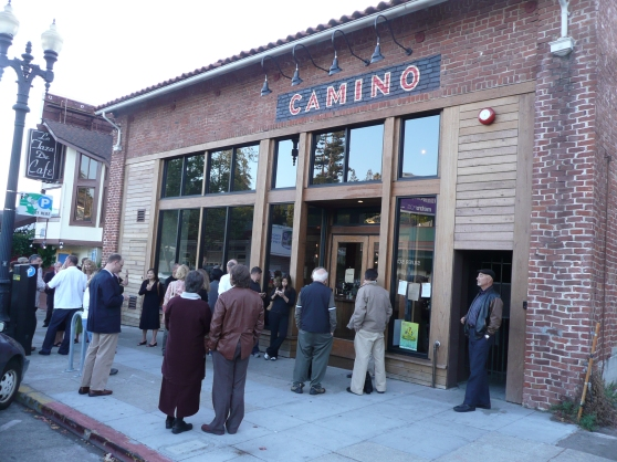 Camino Restaurant in our neighborhood, Oakland, CA