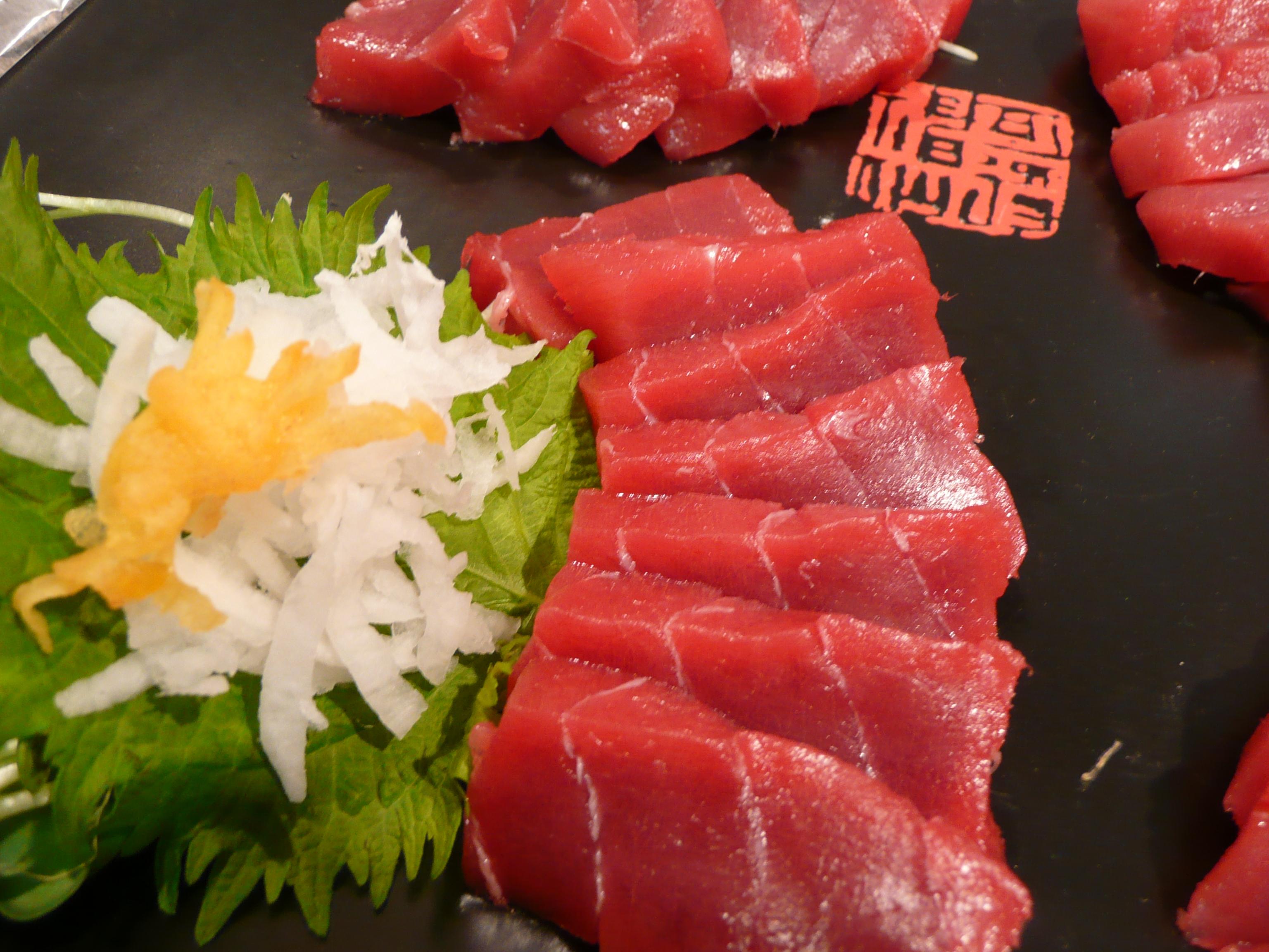 Sliced Tuna